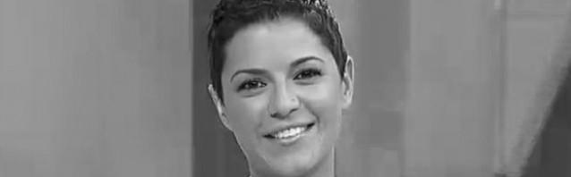 Lorena Pose, presentadora da Revista da TVG, fala habitualmente con gheada durante o programa